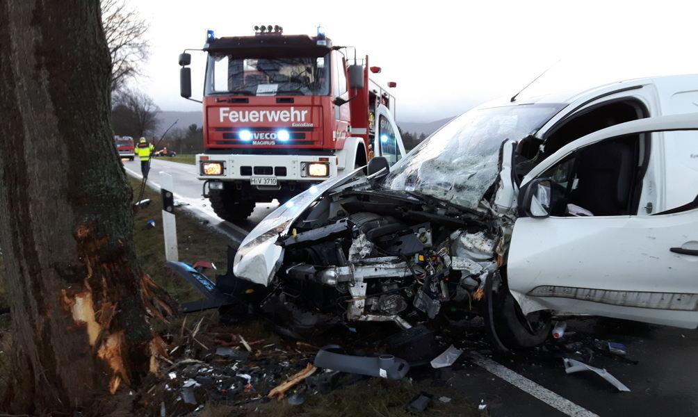 Schwerer Unfall zwischen Eldagsen und Gestorf